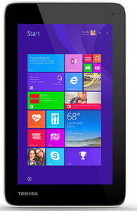 Toshiba unveils low-end full Windows 8.1 tablet for just $119