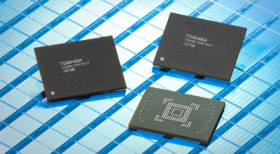 Toshiba unveils 128GB NAND 'monster chip'