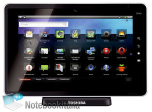 Toshiba Folio 100 will run Android 2.2