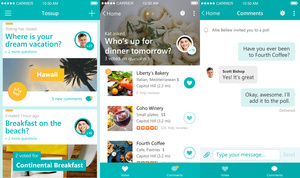 Microsoft creates new social app, Tossup, to help you make plans
