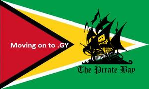 The Pirate Bay verhuist opnieuw, nu naar Guyana