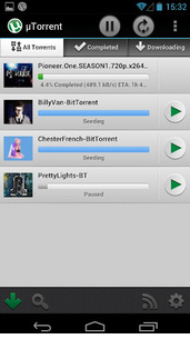 uTorrent saatavilla nyt myös Android-laitteisiin