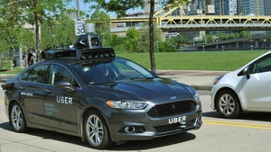 Uber unveils their first self-driving car