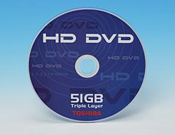 Toshiban 51 gigatavun HD DVD hyväksyttiin
