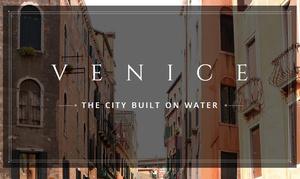 Google Street View door kanalen Venetië