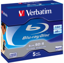 Verbatim offers 8cm Blu-ray discs for HD camcorder use
