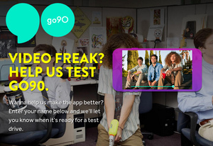 Verizon's new mobile video service is called Go90