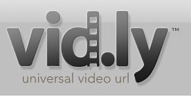 Vid.ly - maakt HTML5 video eenvoudig