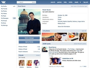 Russian social network VK sued by labels for piracy on a major scale