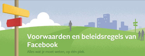 Copyright op Facebook claimen via een status update