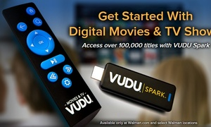 Walmart begins selling their own streaming stick, the Vudu Spark
