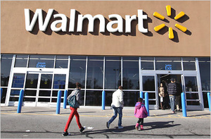 Wal-Mart slashes prices on iOS devices