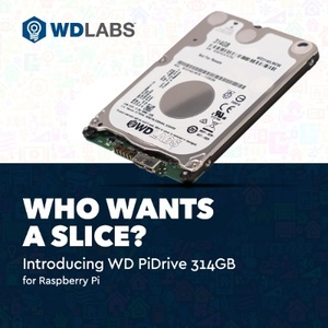 Western Digital releases 314GB PiDrive for Raspberry Pi computers