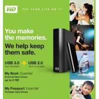 WD updates external HDDs with USB 3.0, 3TB option