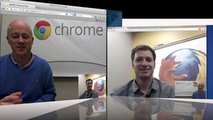 Chrome ja Firefox esittelivät tulevaisuuden videopuhelua