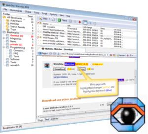 De toonaangevende websitemonitorsoftware WebSite-Watcher nu ook met een gratis versie