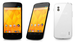 White model of Nexus 4 now available in U.S.