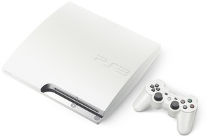 Germany, UK getting white PS3 tomorrow