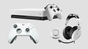 White Xbox One X and Elite Wireless Controller coming soon