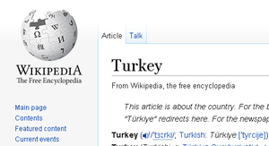 Turkey blocks access to Wikipedia