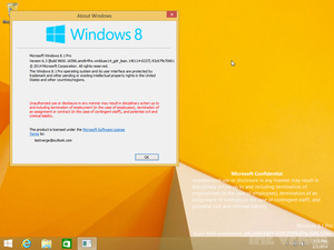 Windows 8.1 Upgrade 1 leaks to the Web early
