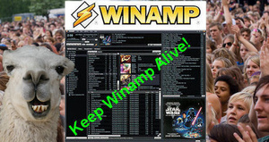 Petition to turn Winamp into open-source software hits 25,000 signatures