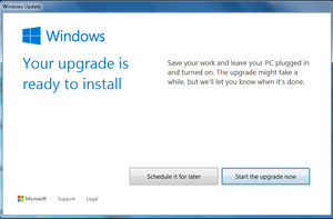 How to force Windows 10 upgrade