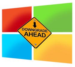 Downgraden van Win 8 Pro naar Win 7/Vista toegestaan