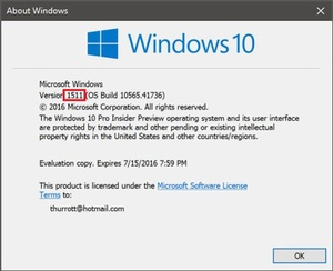 Windows 10 fall update slated for next month