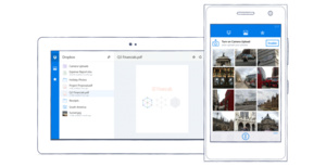Dropbox released for Windows Phones, tablets