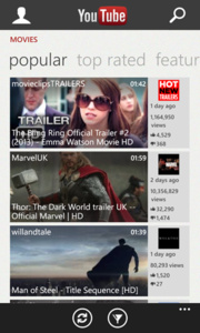 YouTube completely redesigned for Windows Phone 8 devices