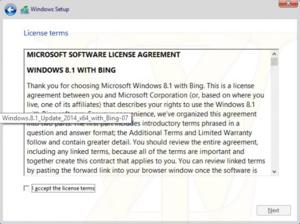 Gratis Windows 8.1 met Bing?