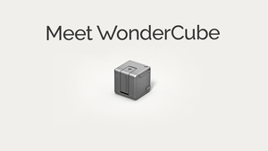 The WonderCube adds external storage, flashlight, stand, phone charger and more into a tiny 1 inch cube