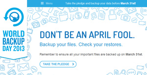 Let AfterDawn help you backup your data on World Backup Day