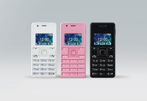 Japanese carrier Willcom shows off world's smallest phone
