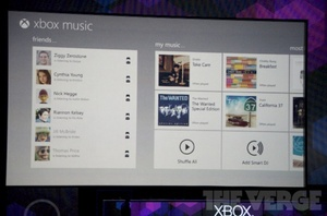 Xbox Music service announced for Windows 8, Phone and console