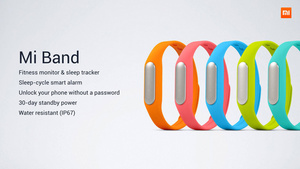 Xiaomi gets into fitness tracker market with $13 Mi Band
