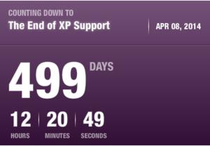Ondersteuning voor Windows XP stopt over 499 dagen