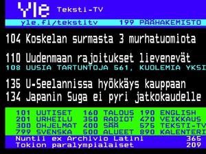 Ei, Yle ei ole lopettamassa teksti-tv:tä