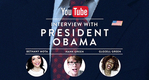 YouTube stars to interview President Obama on January 22nd