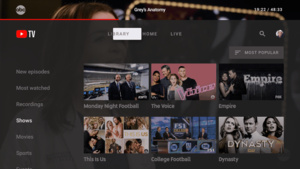 YouTube TV app now available for Android TV devices