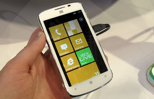 ZTE pays £20 to license Windows Phone