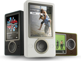 "Second gen Zune is codenamed ""Scorpio"""