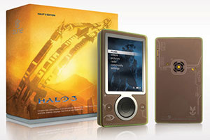 Microsoft releases special edition Halo 3 Zune for military personnel